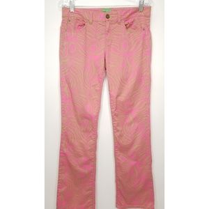 """Lilly Pulitzer """"Palm Beach fit"""" pink pant SZ 6"""